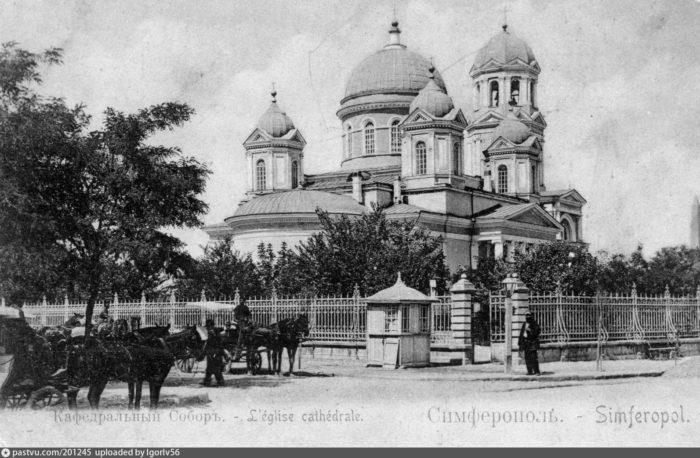 Александро-невский собор до разрушения